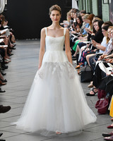 amsale wedding dress spring 2019 tulle a-line
