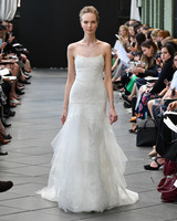 amsale wedding dress spring 2019 spaghetti strap