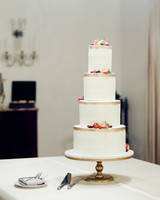 anuja nikhil wedding cake