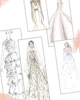 Spring 2019 Bridal Fashion Week Sketch Gallery Intro