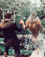 BC Jean and Mark Ballas at Wedding