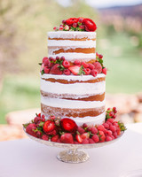 berry wedding ideas sara lynn strawberry cake