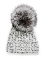 "Kyi Kyi ""Fold It Up Silver Fox"" Hat"