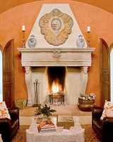 fireplace resort italy