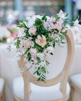 Chair Decor Chair Bouquet