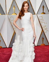 Darby Stanchfield 2017 Oscars Red Carpet
