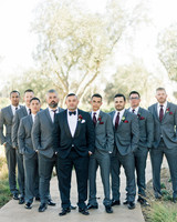 dianna amar wedding groomsmen