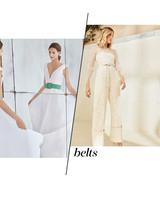 Fall 2018 Wedding Dress Trends, Belts