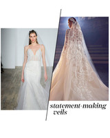 Fall 2018 Wedding Dress Trends, Statement-Making Veils