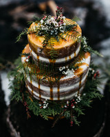 fall wedding cakes erin wheat