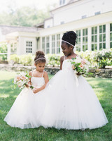 Flower Girl Hairstyle with Headbands