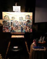 joe tim new orleans wedding painting