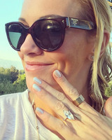 katie cassidy engagement ring