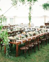 lauren josh wedding reception tables