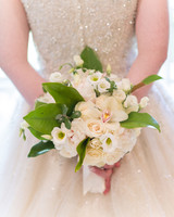 orchid white bouquet