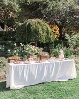 pastry dessert table