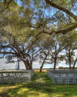 new venue outdoor ceremony seating