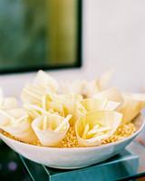 night wedding idea mini-versions of comfort food