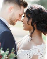 ryan thomas wedding couple close up smiling