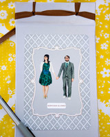 Guest Book with Couple on Cover