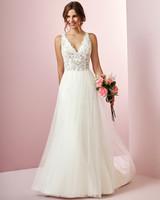 Rebecca Ingram wedding dress spring 2019 v-neck a-line tulle