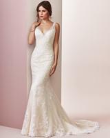 Rebecca Ingram wedding dress spring 2019 v-neck trumpet lace