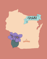 state wedding costs illustration wisconsin