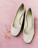 stefanie terrel wedding bride shoes