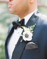 susie joe wedding boutonniere