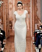 theia wedding dress spring 2019 cap sleeve beaded sheath