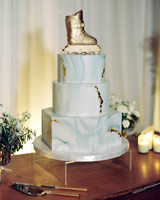 skate wedding cake topper