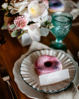wedding donuts brittany renee