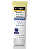 neutrogena sheerzinc dry-touch sunscreen