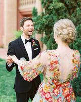 cavin david wedding bride groom first look