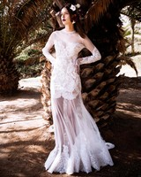 Christos Costarellos sexy wedding dress