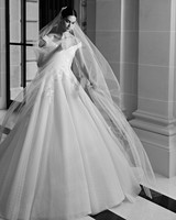 elie saab fall 2019 off the shoulder ball gown wedding dress