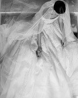 elie saab fall 2019 glitter ball gown wedding dress