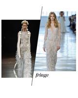 Fall 2018 Wedding Dress Trends, Fringe