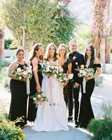 hanna will wedding bridesmaids