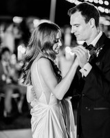 hanna will wedding couple first dance