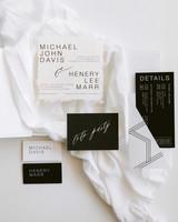 henery michael wedding invites stationery