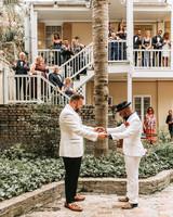joe tim new orleans wedding first look