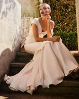 johanna ortiz moda operandi one shoulder flowy wedding dress
