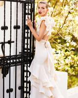 johanna ortiz moda operandi open back sleeveless ruffle wedding dress