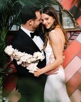 krista will wedding couple first look