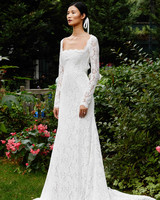 Lela Rose long sleeve wedding dress fall 2019