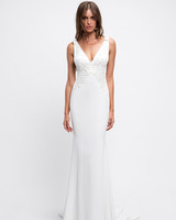 lihi hod wedding dress sleeveless v-neck trumpet