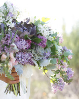 Purple Lilac Bouquet