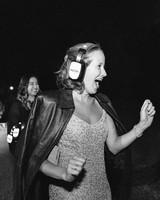 modern wedding silent disco headset