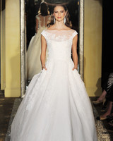 Cap-Sleeve Wedding Dress with Pockets